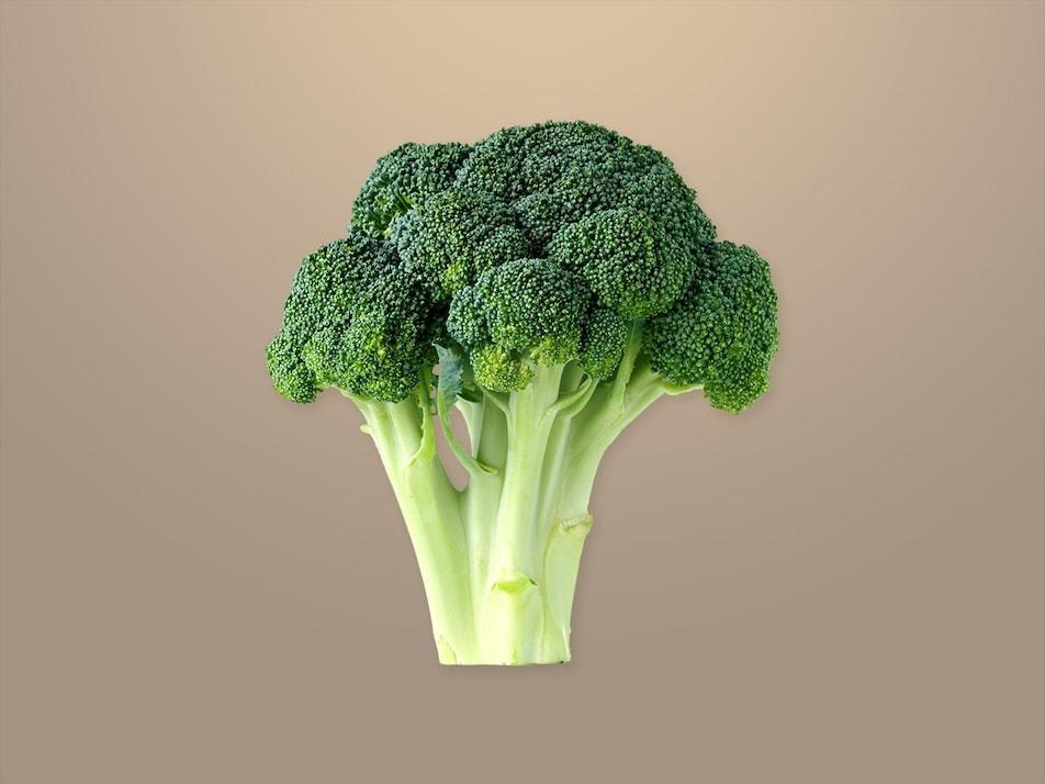 Un pied de brocoli.
