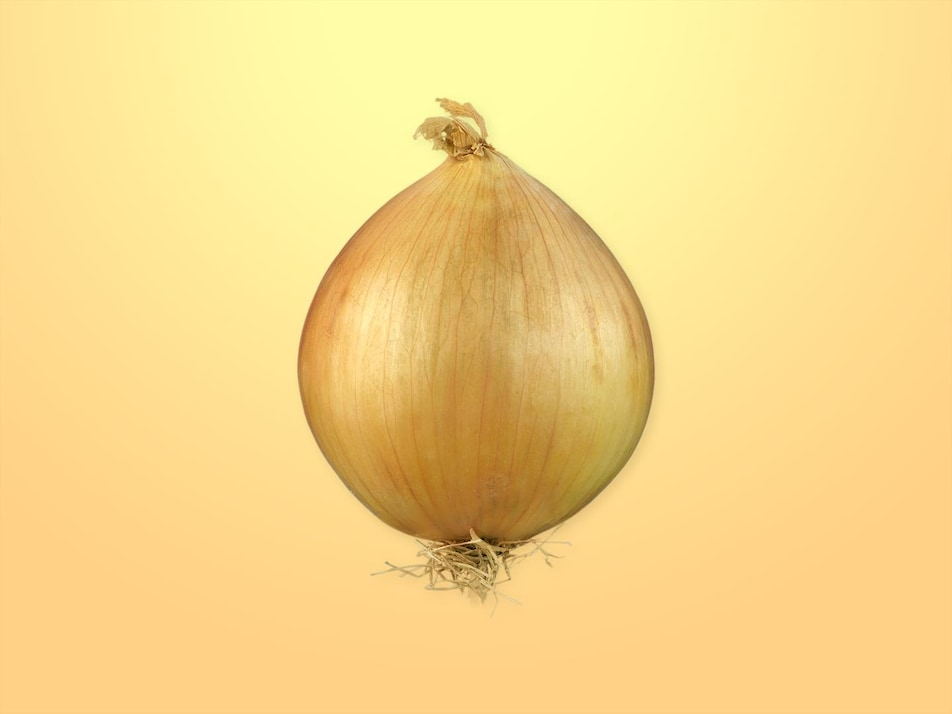 Un oignon entier.