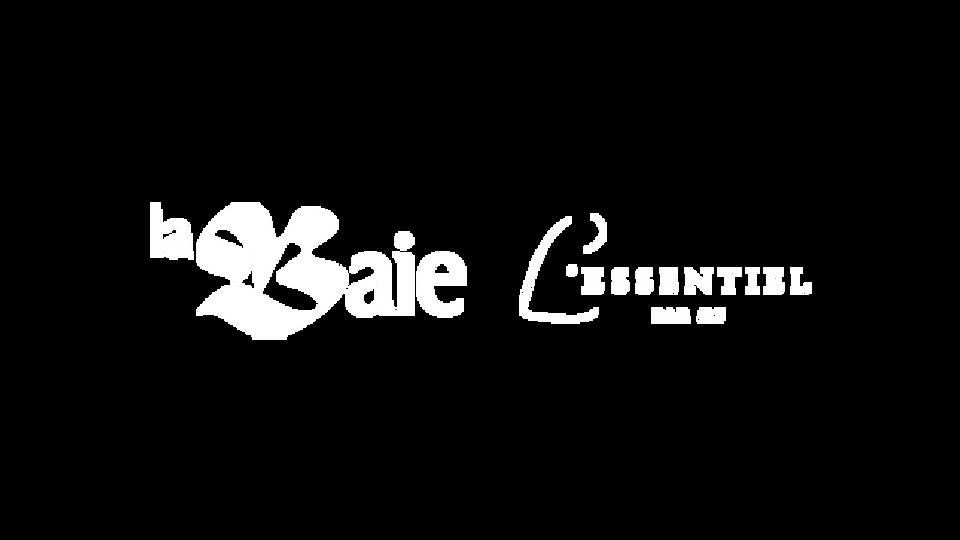 Logos La Baie et l'essentiel par MF