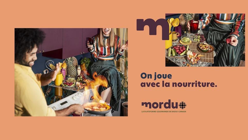 Publicité : Mordu.ca, la nouvelle plateforme gourmande de Radio-Canada