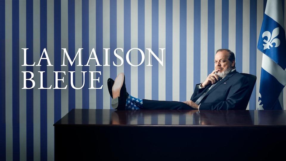 Publicité. La Maison bleue, sur ICI Tou.tv.