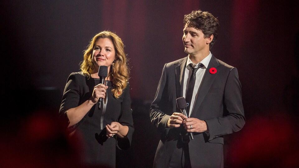 Sophie Grégoire-Trudeau et Justin Trudeau