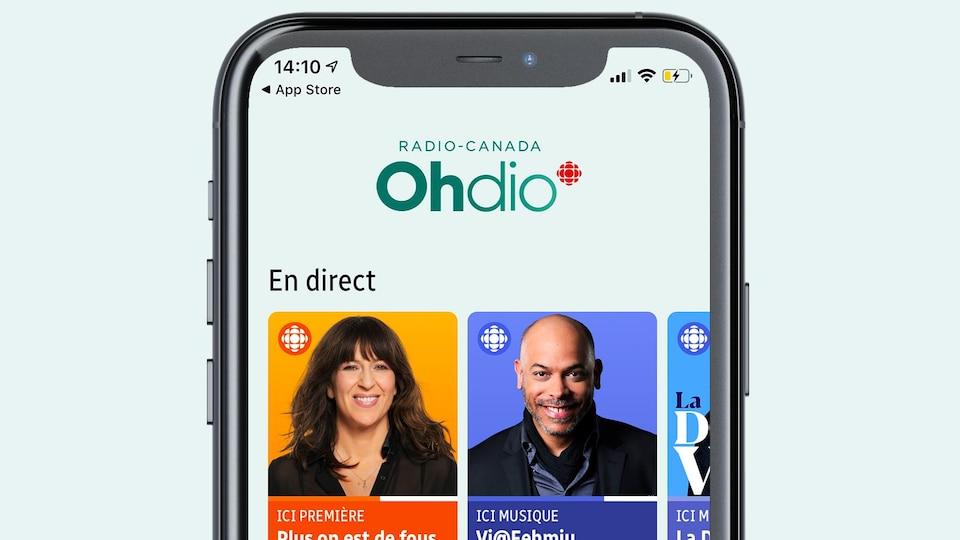 Application mobile: Radio-Canada OHdio