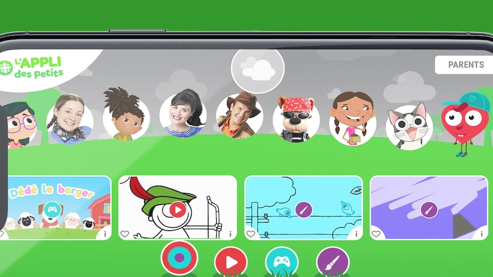 Applications mobiles: les applications des petits