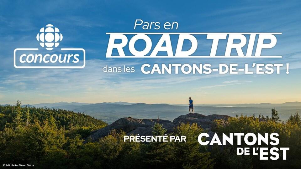 Concours Radio-Canada : Pars en road trip dans les Cantons-de-l'Est! - Présenté par l'Association touristique des Cantons-de-l'Est