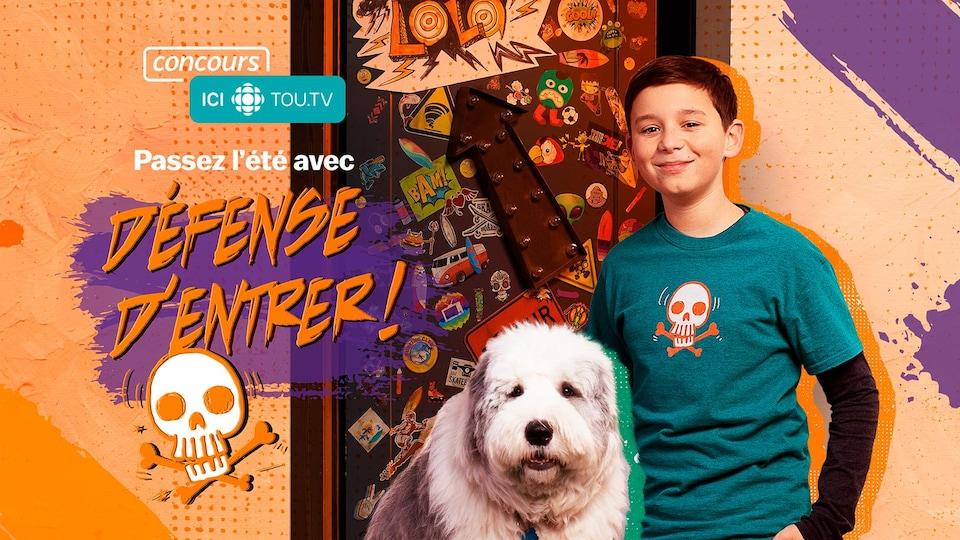 Concours ICI TOUTV et Radio-Canada zone Jeunesse : Passez l'été avec Défense d'entrer!