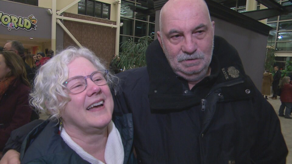 Nicole Renaud et Jean-Claude Lavoie.