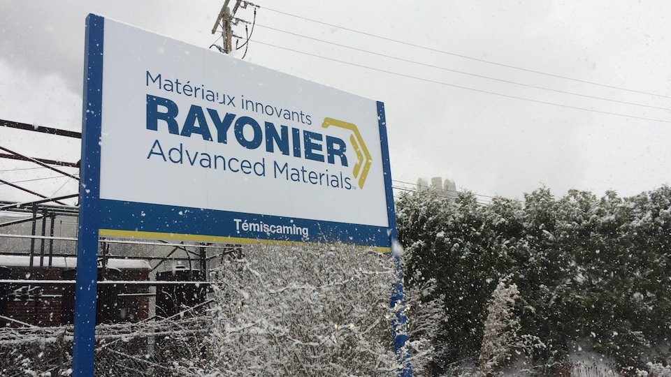 Les installations de Rayonier Advanced Materials à Témiscaming.