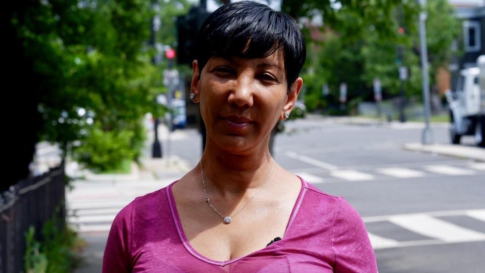 Adoria Doucette s'est blessée en utilisant une trottinette électrique à Washington.