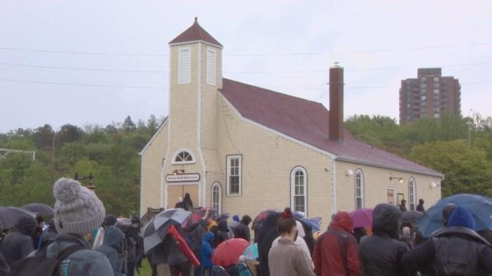 Une église à Africville.