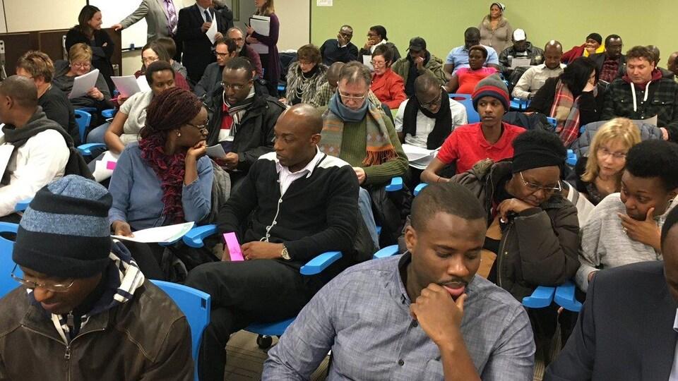 Quelque 70 membres de l'ACFR ont participé à l'assemblée générale annuelle de l'organisme.