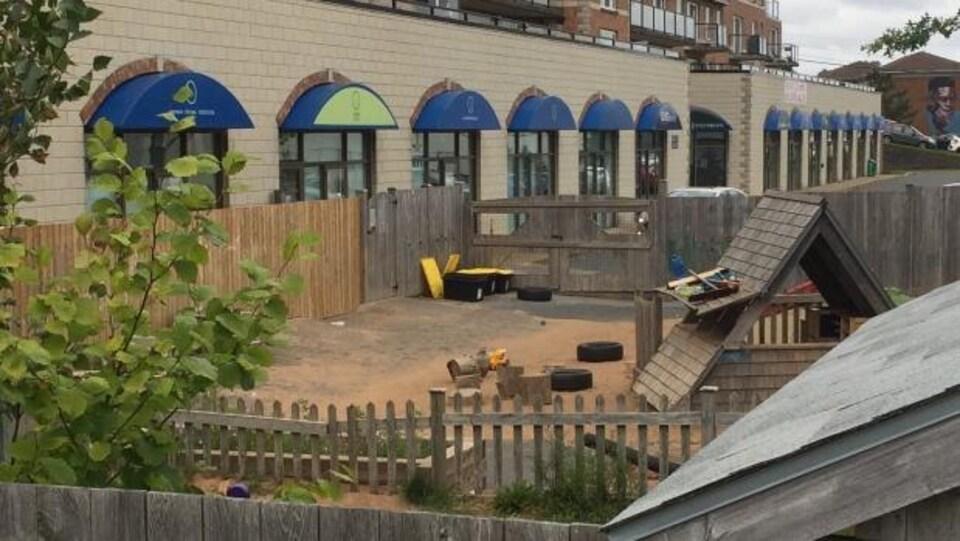 La garderie Kids & company, situé sur la rue Barrington au nord d'Halifax.