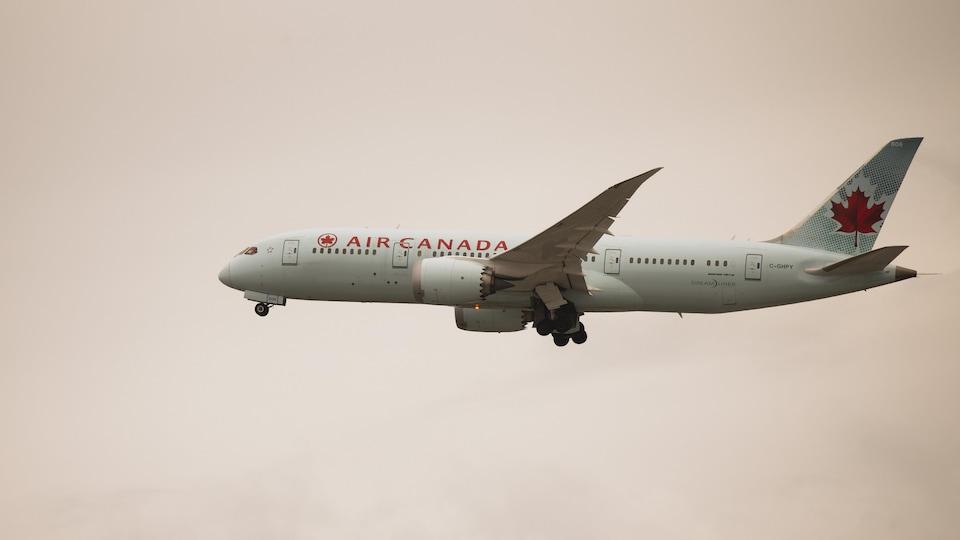 Avion de la compagnie Air-Canada.