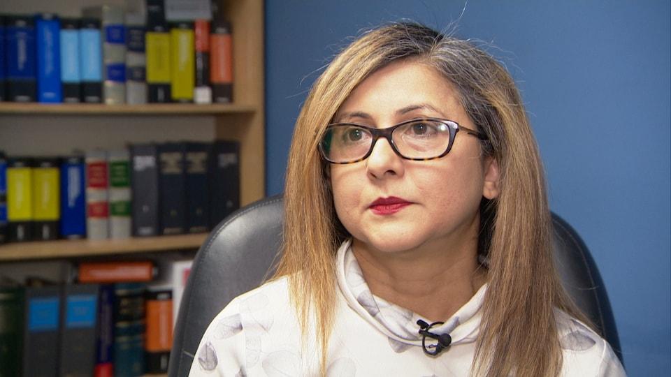 Aissa Nauthoo, directrice des services d'aide juridique au Centre francophone de Toronto.