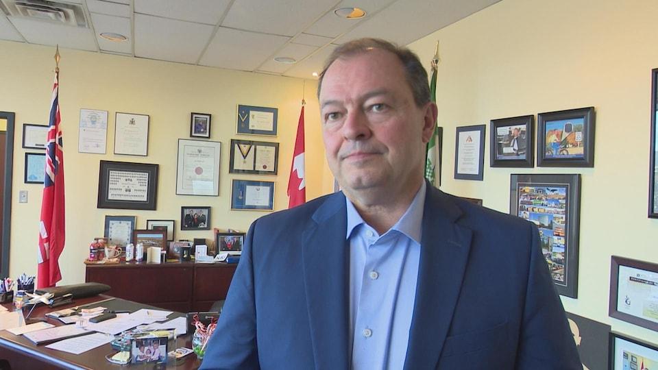Le maire de North Bay Al McDonald.