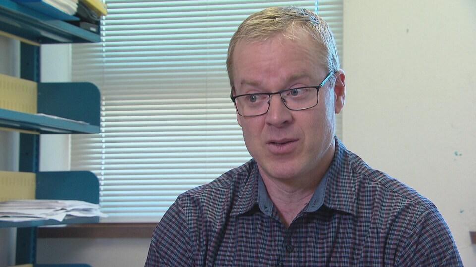 Alain Haché, physicien à l'Université de Moncton.