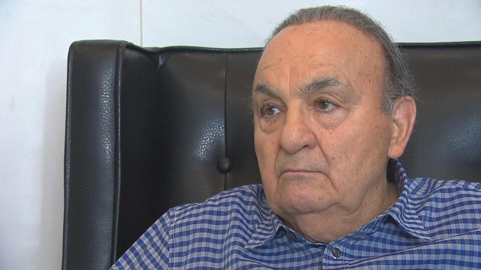 Alain Haddad, vice-président du comité exécutif de l'Église syriaque Saint-Éphrem