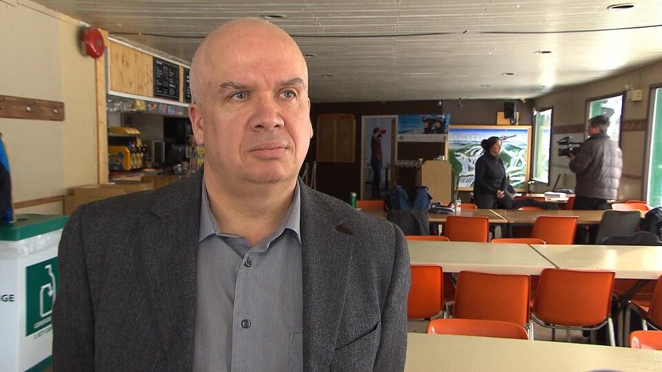 Le directeur général de la MRC de Sept-Rivières, Alain Lapierre