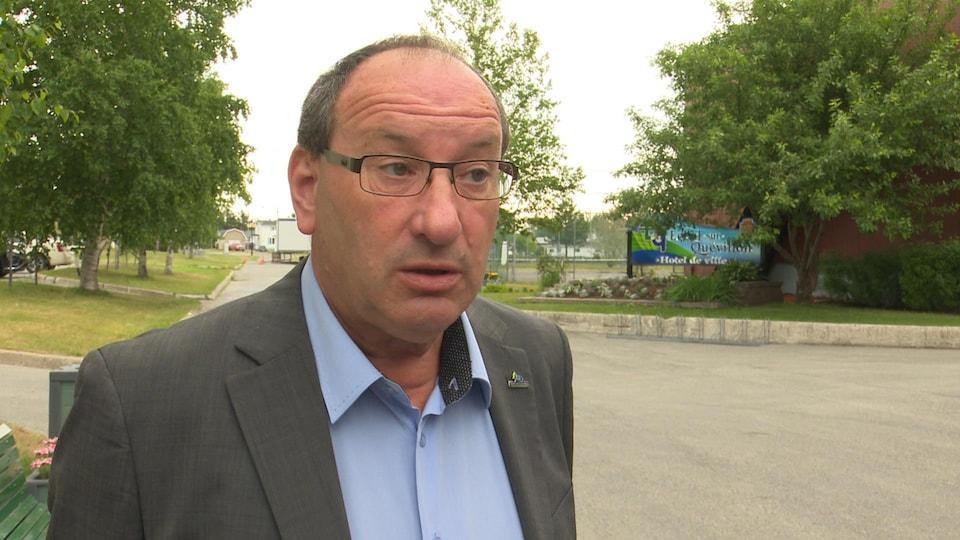 Alain Poirier, maire de Lebel-sur-Quévillon.