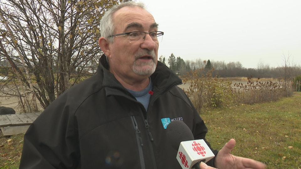 Alain Poitras, président de la Fédération québécoise de chasseurs et pêcheurs pour la région Gaspésie-Iles-de-la-Madeleine