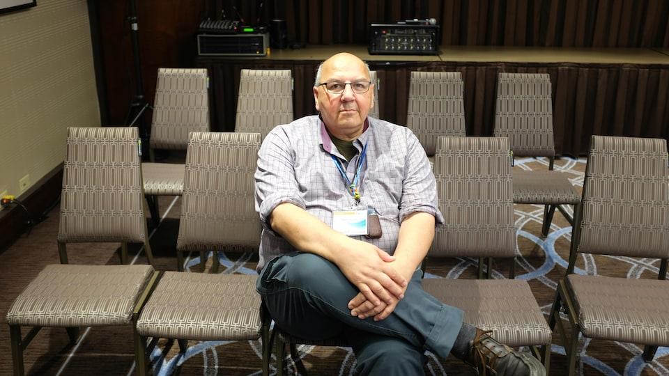 Albert McLeod est codirecteur du groupe Two-Spirited People of Manitoba