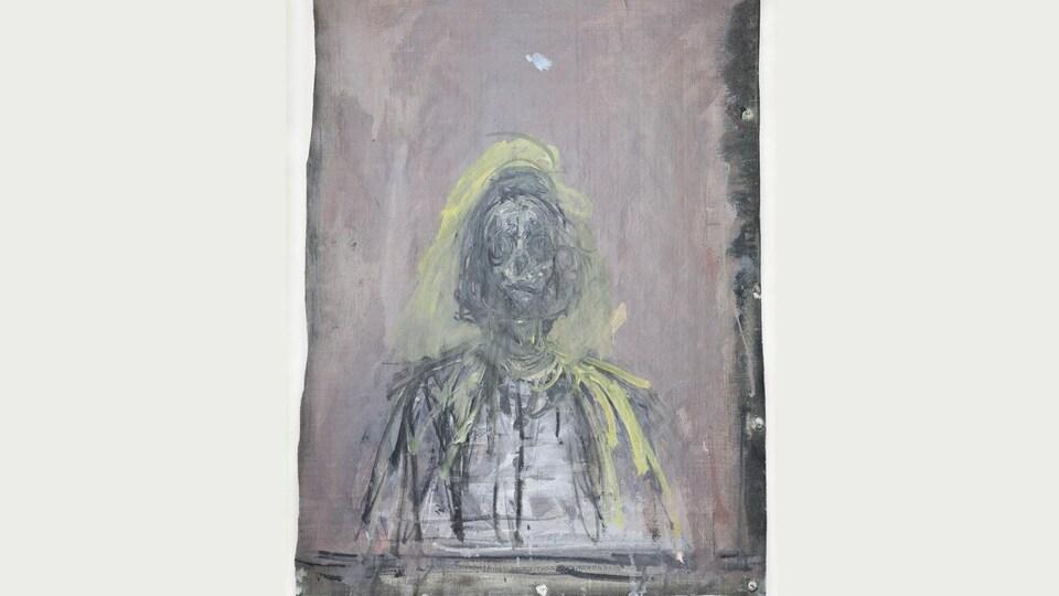 Alberto Giacometti, Annette, 1952. Huile sur toile, 57 x 43 cm