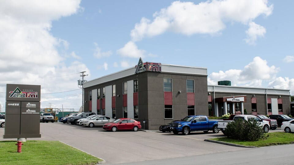 Les bureaux d'Alco-TMI à Alma.