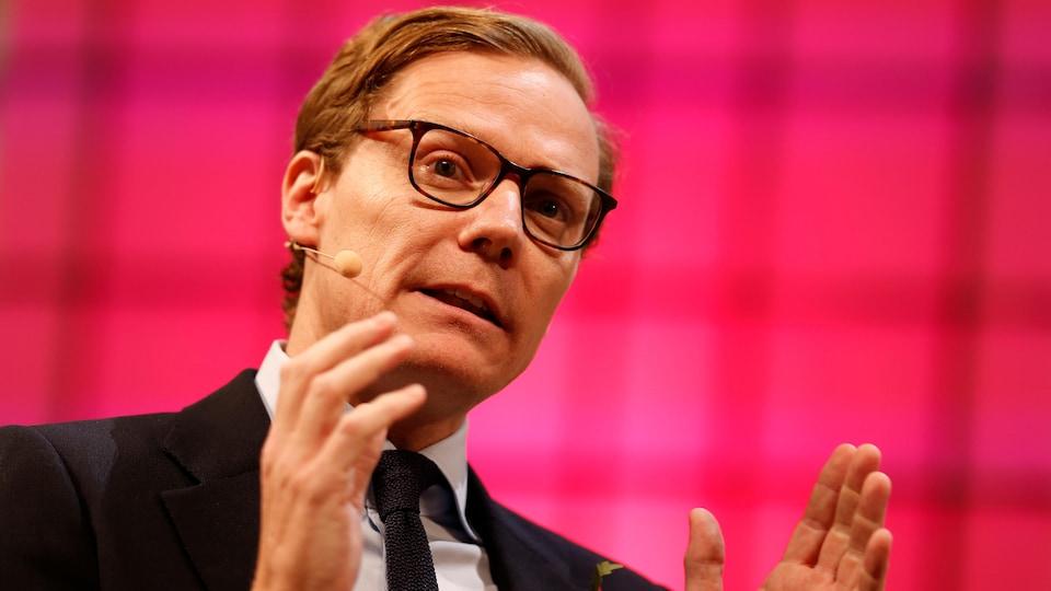 Le PDG de la firme Cambridge Analytica, Alexander Nix.