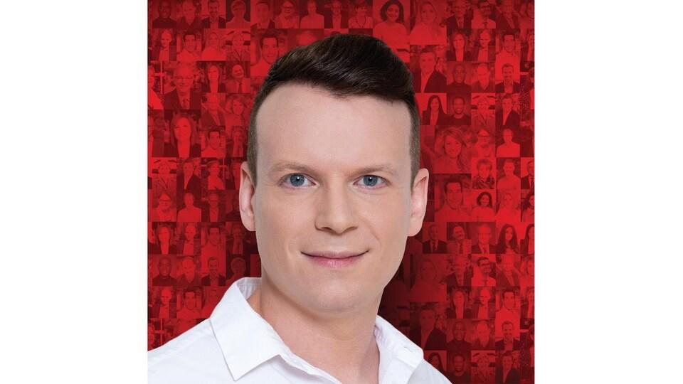 Le visage d'Alexandre Bellemare.