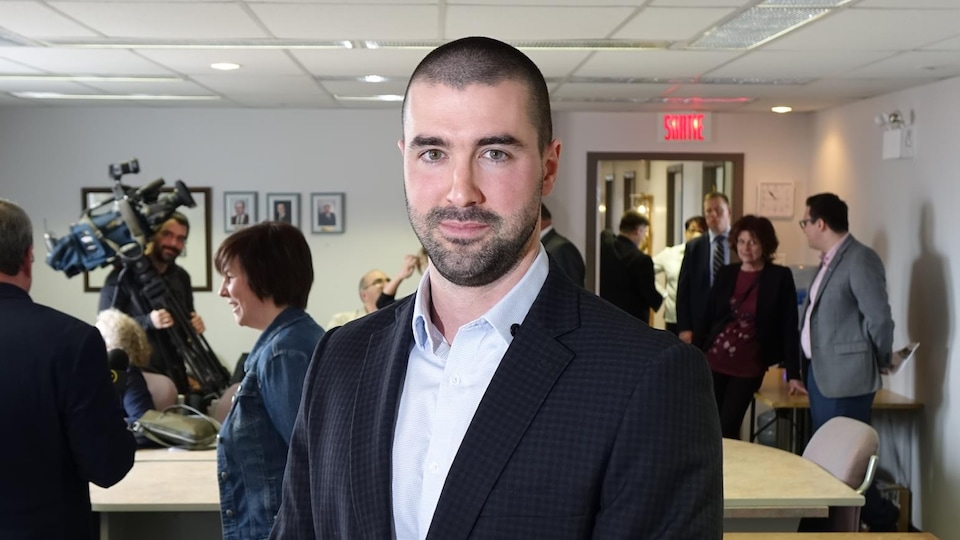 Le coordonnateur du CAMO-FMI, Alexandre Boudreau