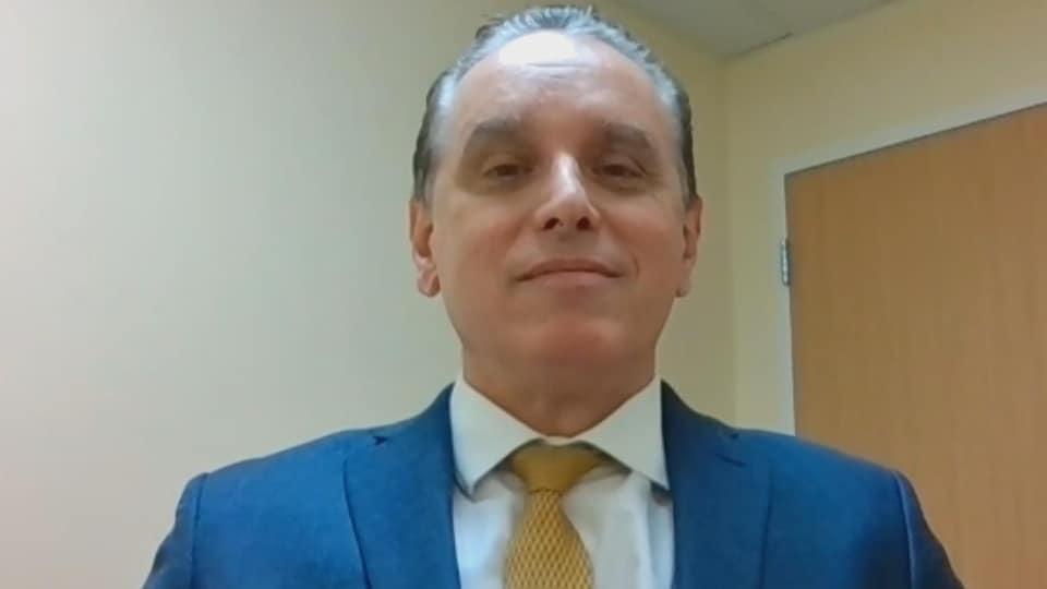 Alier Marrero dans une entrevue par vidéoconférence, le 16 mars 2021.