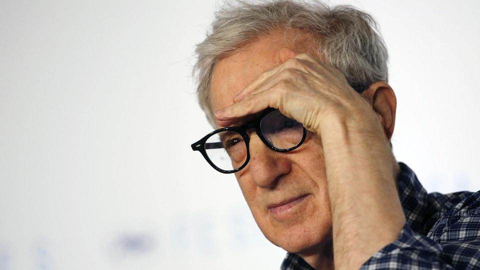 Woody Allen au Festival de Cannes en 2015