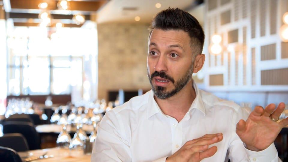 Photo de Kosta Tsakiris, copropriétaire des restaurants Ottavio