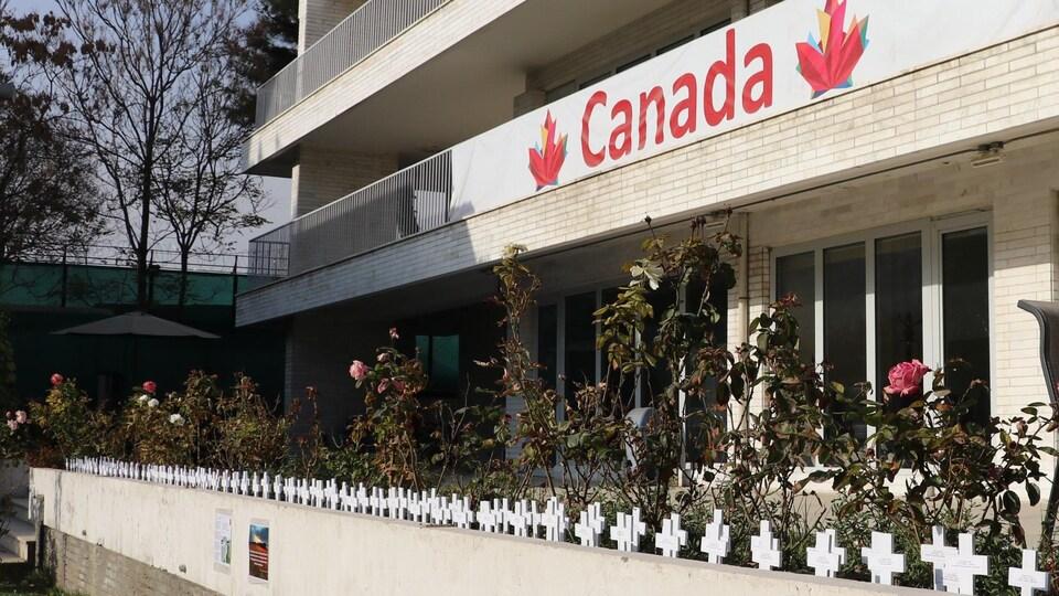 L'ambassade canadienne en Afghanistan.