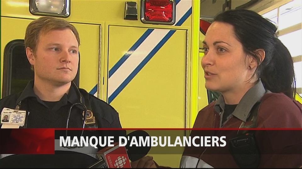 Des ambulanciers de Granby dénoncent le manque d'effectifs.