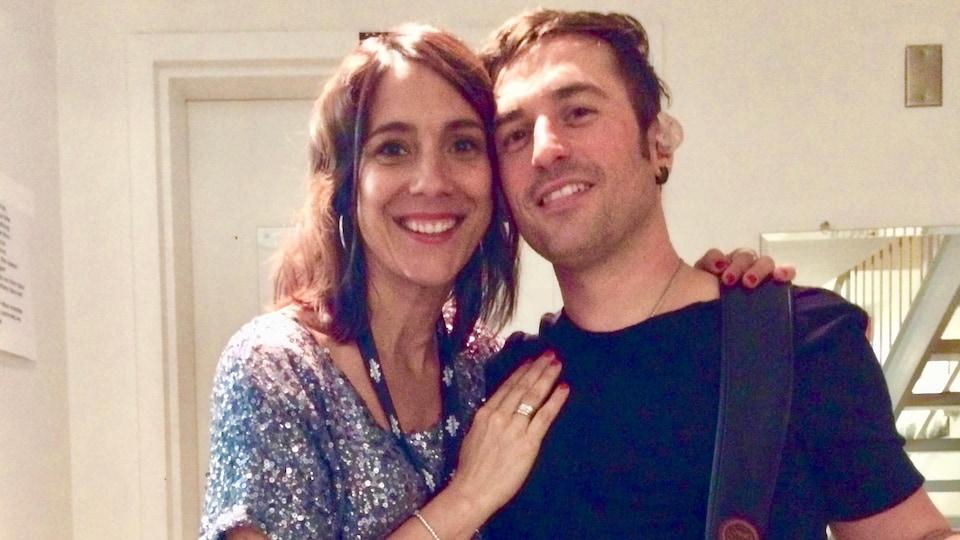 Amélie Vallée et Jean-François Langevin.
