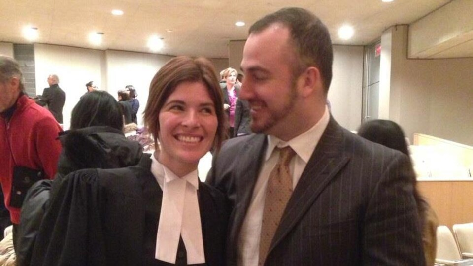 Megan et Amir Epstein.