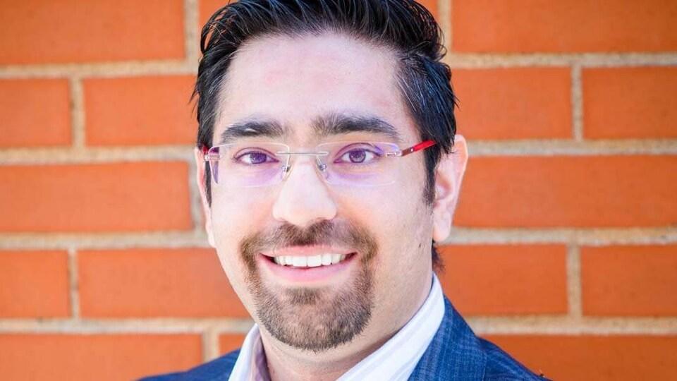 Amit Virmani, PDG de l'entreprise Naveco Power de Fredericton