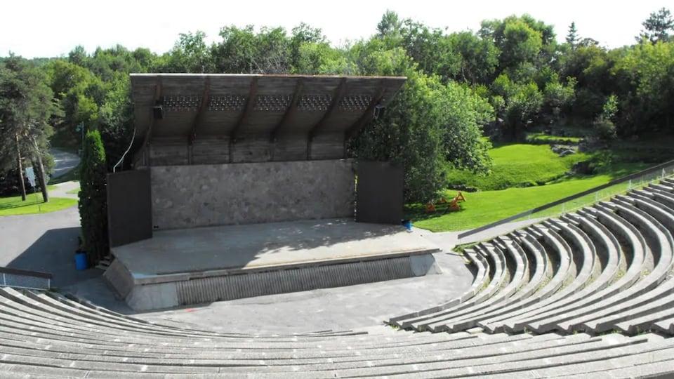 L'amphithéâtre du parc Bell.