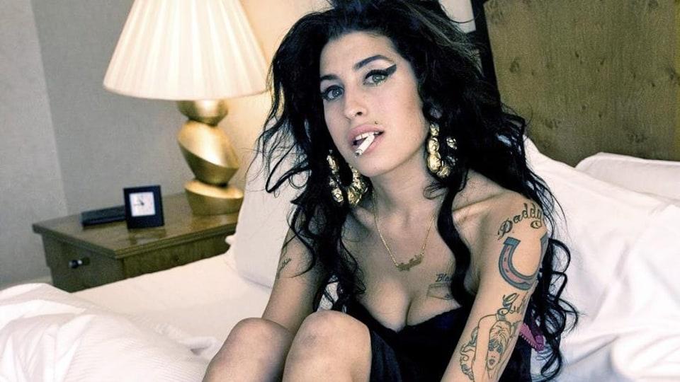 Amy Winehouse à Londres, en 2007
