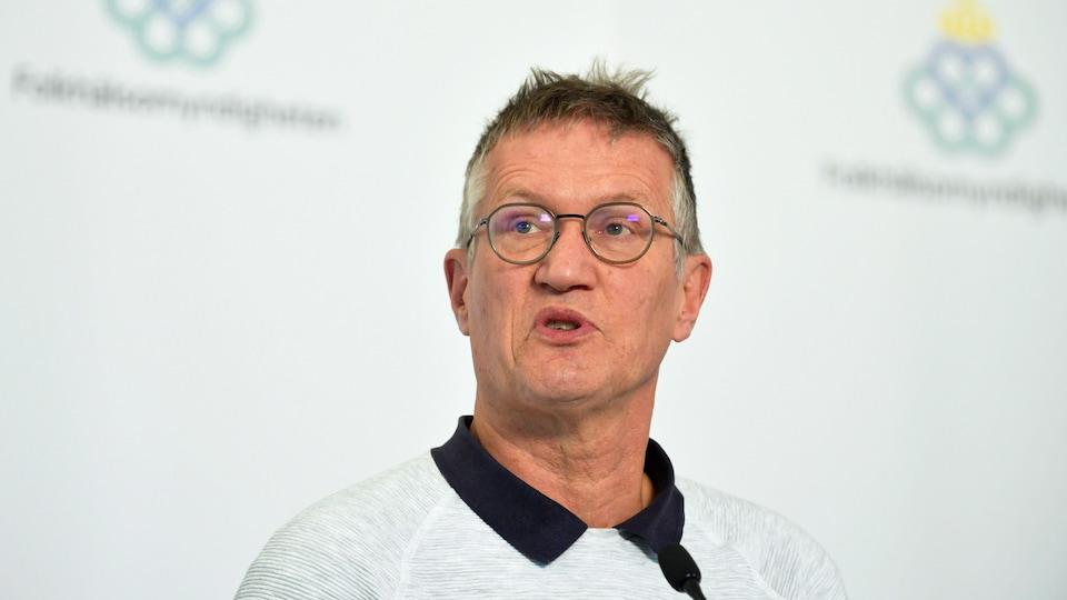 Anders Tegnell, l'épidémiologiste en chef de la Suède.