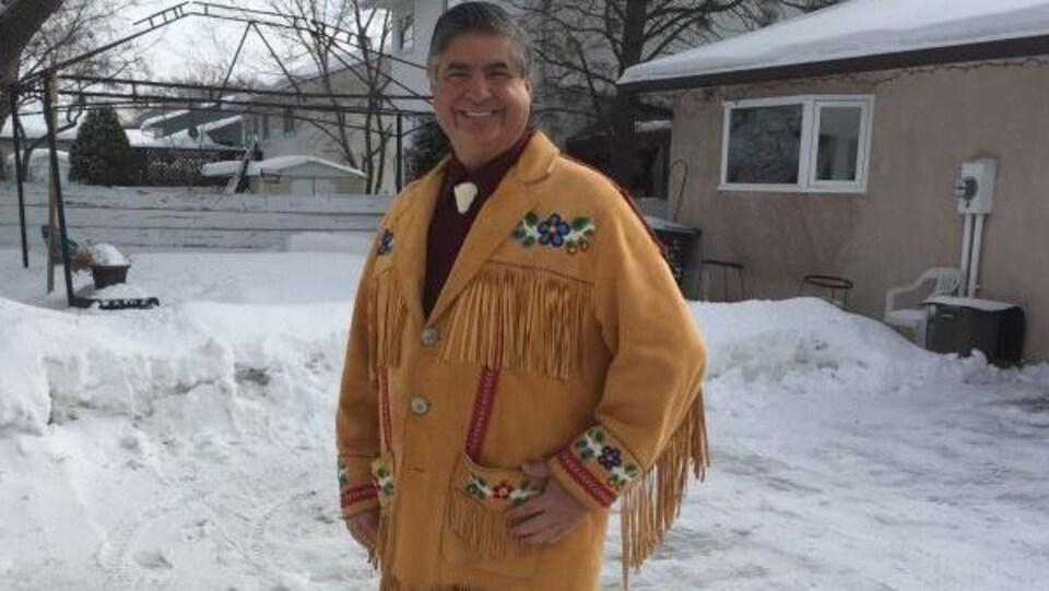 André Carrière, vice-président de la Fédération des Métis du Manitoba