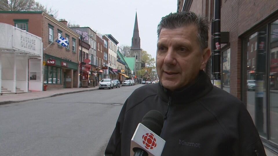 André Roy, directeur de l'Office du tourisme de Québec