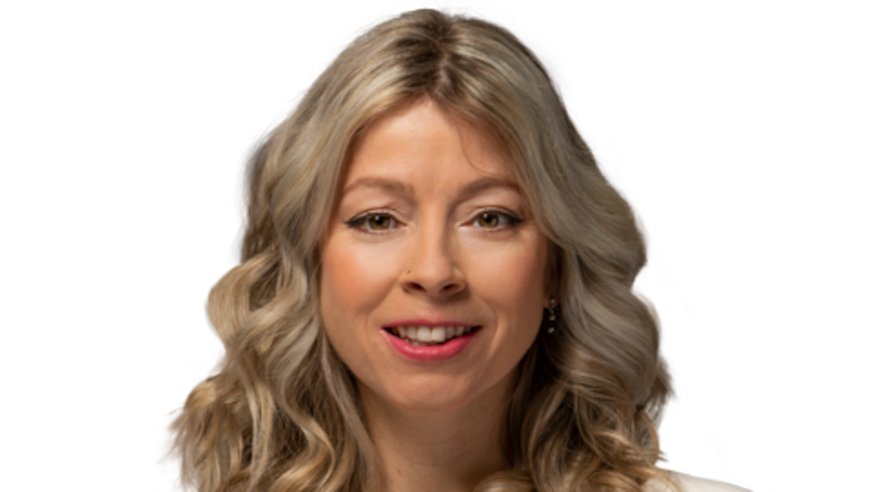 photo officielle d'Andréanne Larouche sur un fond blanc