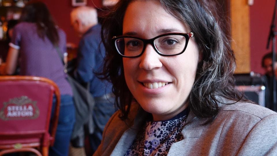 Andréanne Malacket, doctorante et chargée de cours à la faculté de droit de l'Université de Montréal