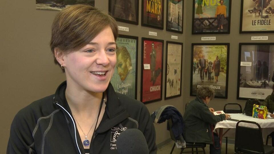 Andréanne Roy, organisatrice de Ciné-7