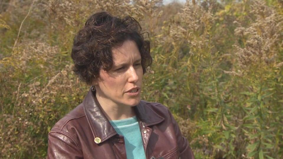 Anna Baggio en entrevue