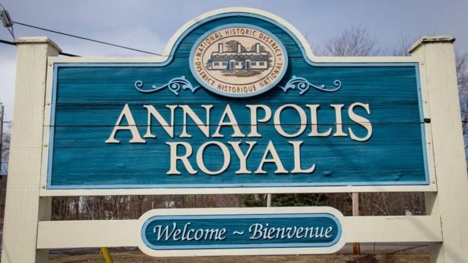 Une affiche de Annapolis Royal.