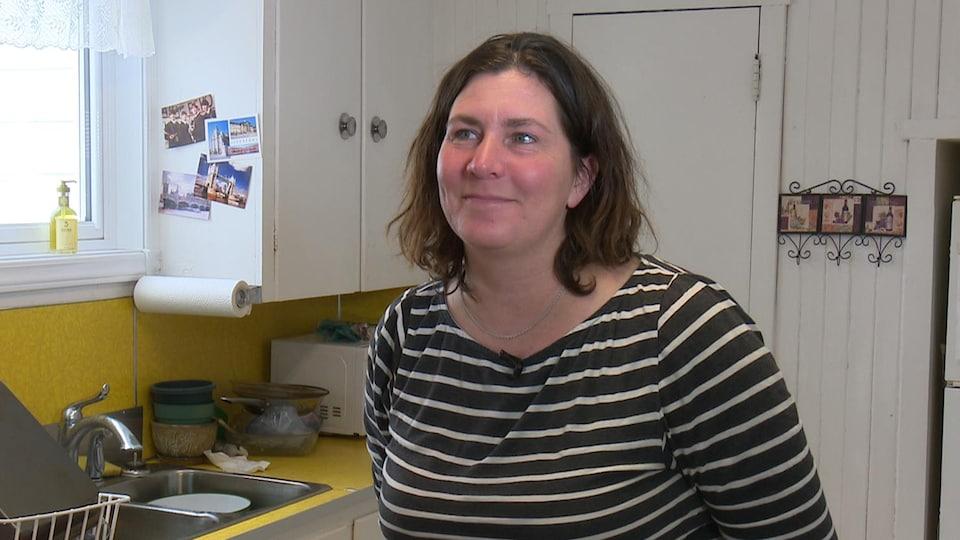 Anne-Renée Jacob est la directrice générale de Saint-Mathieu-d'Harricana.