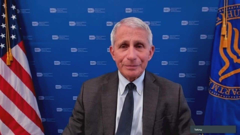 Anthony Fauci lors d'une entrevue.